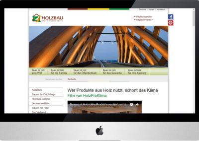 Holzbau Online, Internet