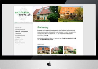 Architektur + Werkstatt, Internet