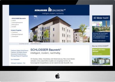 SCHLOSSER Bauwerk+, Internet
