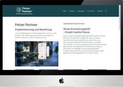 Fetzer Partner, Projekt