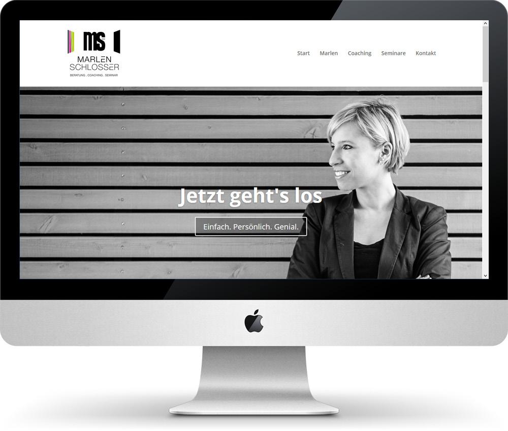 Marlen Schlosser Coaching, Internet