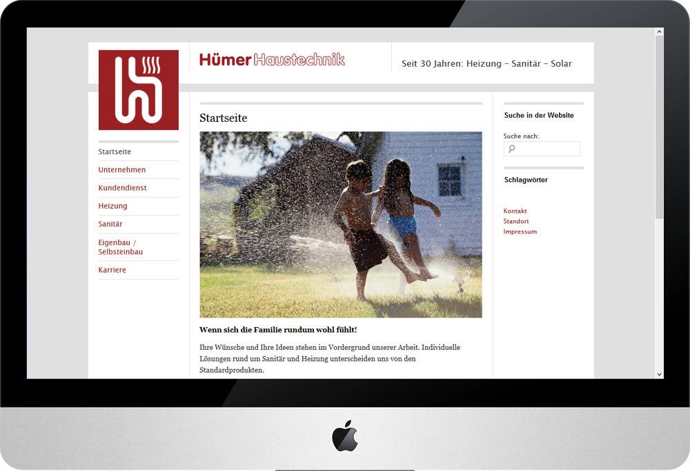 Hümer Haustechnik, Internet