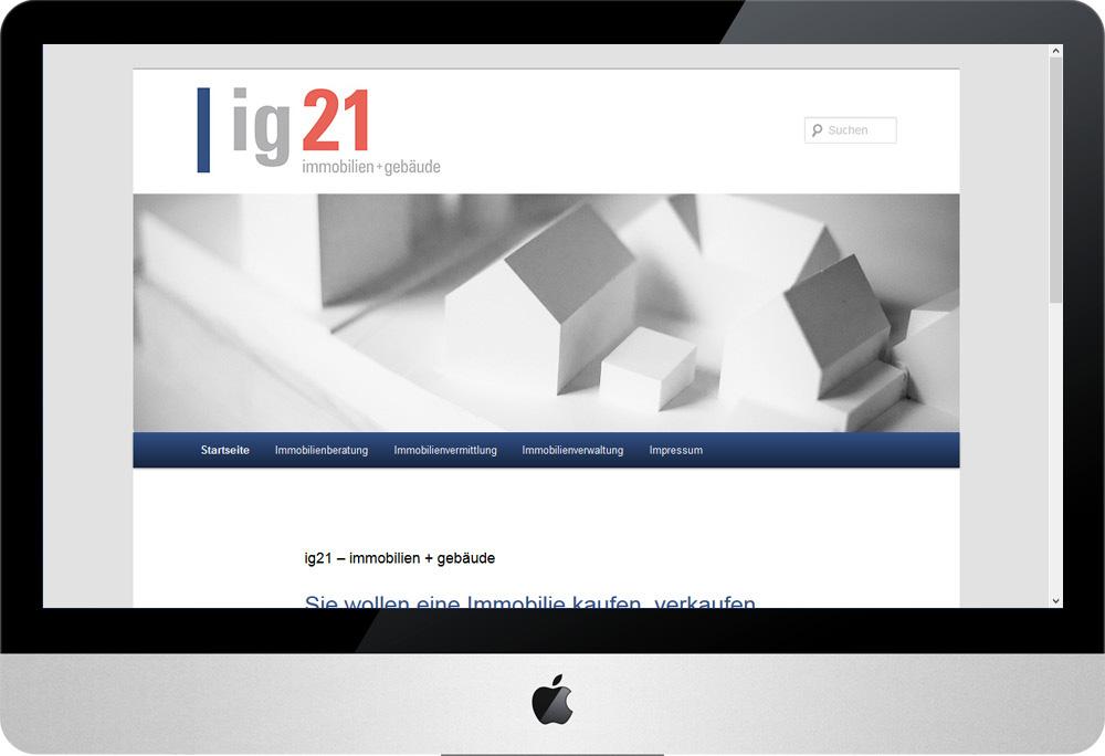 ig21 immobilien, Internet