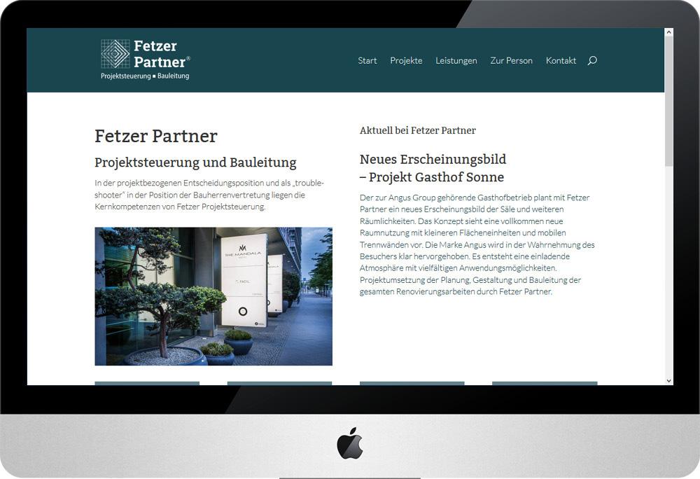 Fetzer Partner, Internet