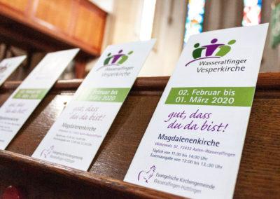 Gemeinsam in der Kirche vespern!