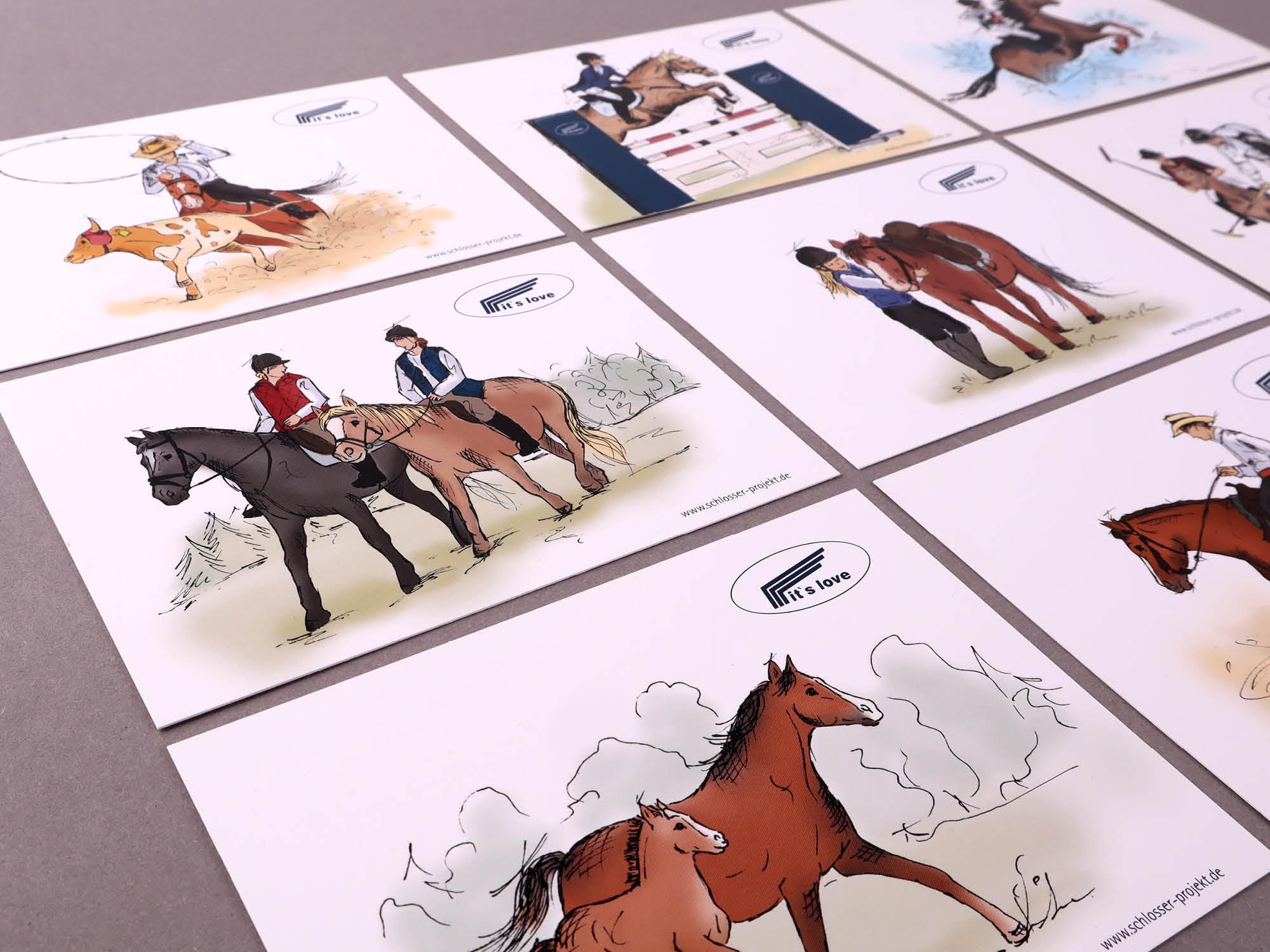 Schlosser - Jagstzell - Americana - Postkarten - 2019 - 02